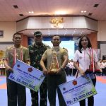 Kontingen TNI AD Juarai Kejurnas Karate Piala Panglima TNI 2019