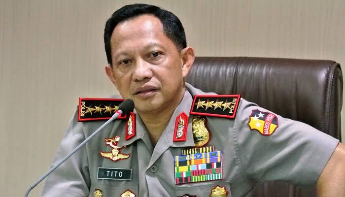 Kapolri Jenderal Polisi Tito Karnavian Resmi Diberhentikan
