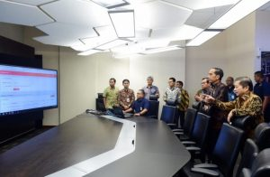 Presiden Tinjau 'Integrated Digital Work' di Bappenas