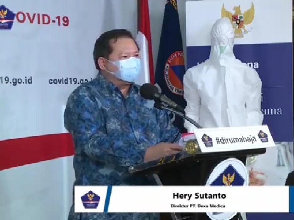 Obat Covid-19 Telah Berhasil Diproduksi di Indonesia oleh Pt Dexa Medika